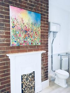 yvonne coomber after bathroom