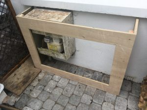 how to make a radiator cover frame