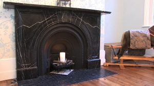 fireplace wide