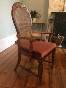 How to reupholster a chair: reupholster dining chairs