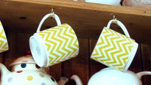 yellow mugs