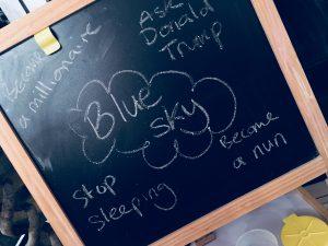 smart goals: blue sky