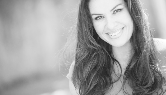 Georgina Burnett BW Smile