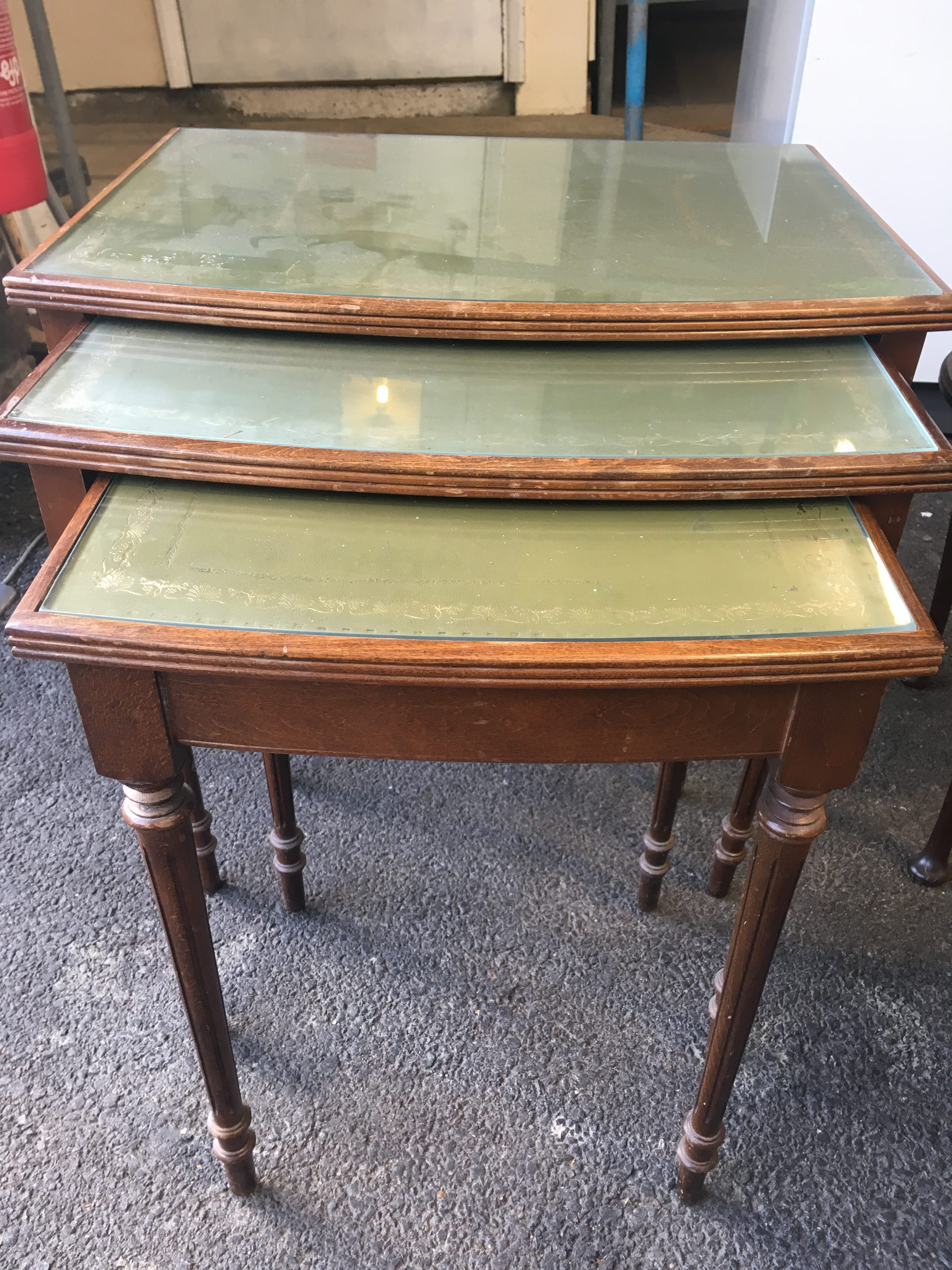 Upcycling: Joie Tables Before