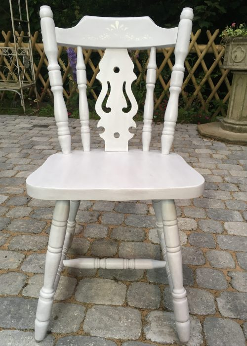 Upcycling: Kitchen Chair After