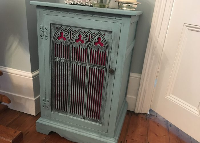 Upcycling: Music Cupboard After