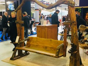 Ideal Home Show swing seat