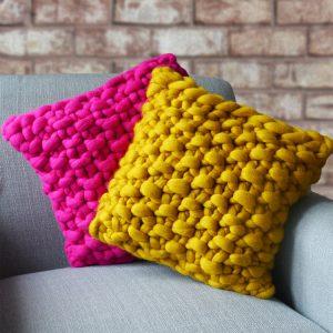 Ideal Home Show Lauren Aston cushion