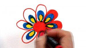 colour wheel triad