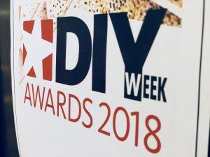DIY Week Awards sign