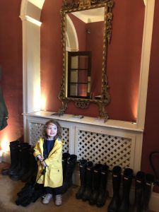 Chewton Glen Hotel wellies