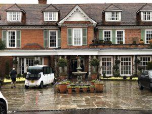 Chewton Glen Hotel front