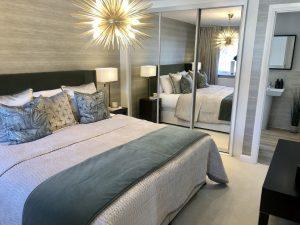 darwin green bedroom