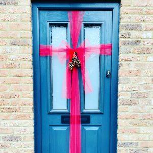 quick fix christmas door