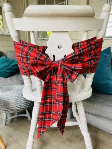 quick fix christmas chair