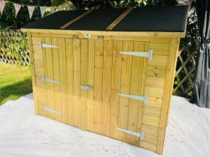 shed before
